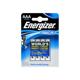 AAA Ultimate Lithium Batteries (4 Pack) 632965