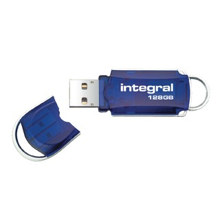 Courier USB 2.0 128GB Flash Drive INFD128GBCOU