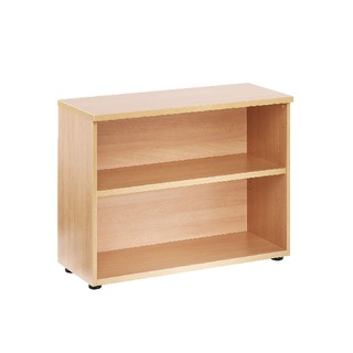 Beech 1 Shelf 730mm Bookcase