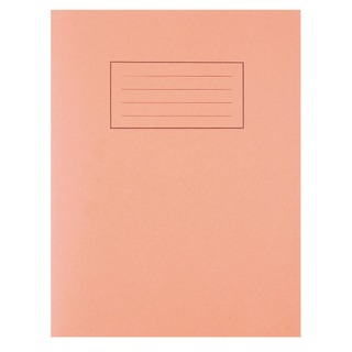 Orange 229 x 178mm Exercise Book 80 Pages 5mm Squares (10 Pack) EX1