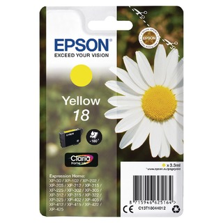 18 Yellow Inkjet Cartridge C13T180440