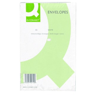 C5 Envelope 100gsm Plain Peel and Seal White (500 Pack)