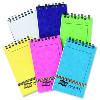 Assorted (C Pack) Minor Notepads (20 Pack)