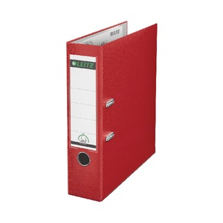 180° Polypropylene A4 80mm Red Lever Arch File (10 Pack)