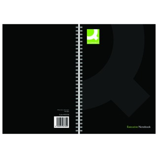 Black A5 Wirebound Book (3 Pack)