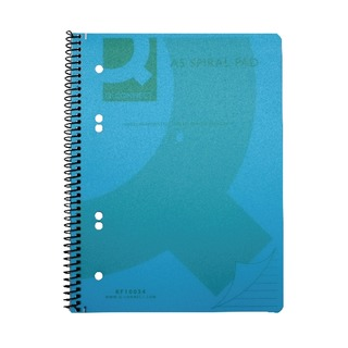 Blue A5 Polypropylene Notepad (5 Pack)
