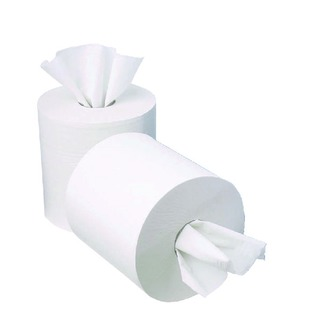Centrefeed 1-Ply Paper Roll 195mm x 120m (12 Pack)