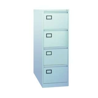 4 Drawer Filing Cabinet Grey XK4B