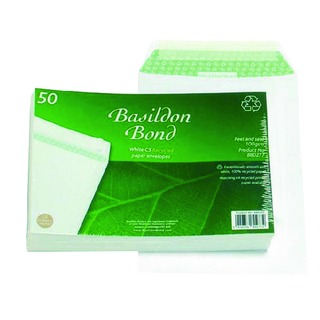 C5 Envelope 120gsm Peel and Seal White (50 Pack)