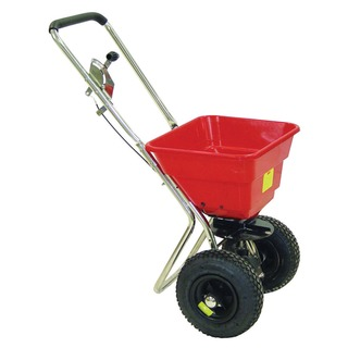 Salt Spreader 36kg With Rain Cover Red 3809