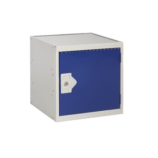 Blue Door 450 x 450 x 450mm Cube Locker One Compartment
