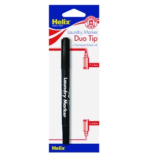 Laundry Marker Twin Tip Permanent Black (10 Pack) S28070