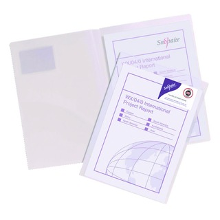 TwinFile Presentation A4 File Clear (5 Pack) 1403