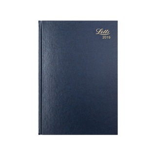 31X A5 Week to View Diary Blue 2019 19-