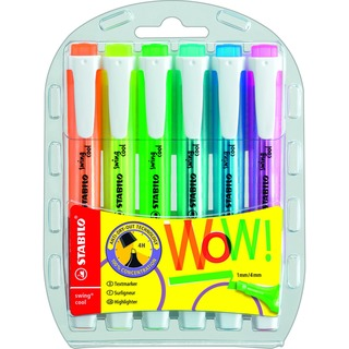 swing cool Assorted Highlighters (6 Pack) 275/6-