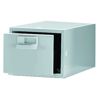 8x5 Inches Single Grey Card Index Cabinet FC