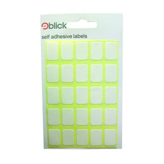 White 12x18mm Labels (3500 Pack) RS002758