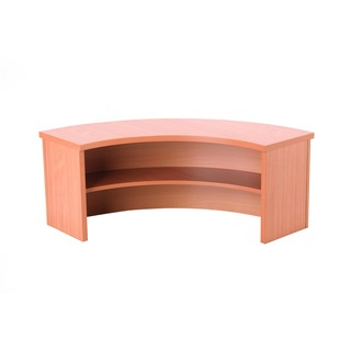 Bavarian Beech Radial Reception Counter 800mm