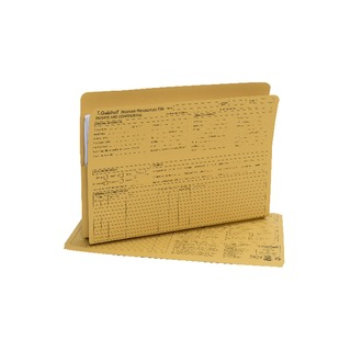 Pre-Printed HR File Yellow (50 Pack) 211/1300Z