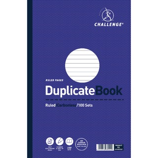 Duplicate Book Ruled Carbonless 100 Sets 297 x 195mm (3 Pack) 100080527