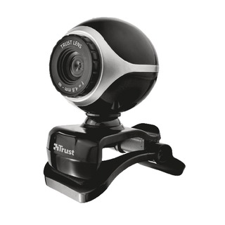 Exis Webcam Black/Silver 17003