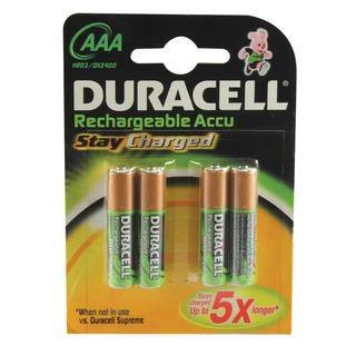 Stay Charged AAA Batteries (4 Pack) 75071747