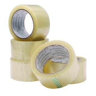 Polypropylene Packaging Tape 50mm x 66m Clear (6 Pack)