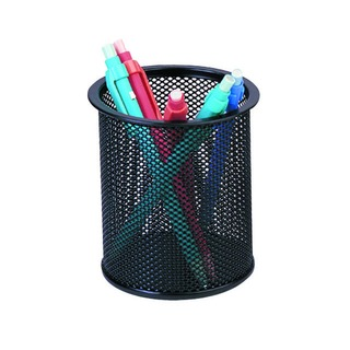 Mesh Black Pen Pot