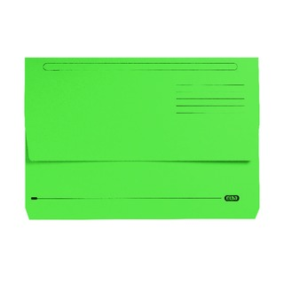 StrongLine Foolscap Document Wallet Green (25 Pack) 100090268