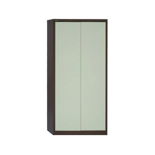 Coffee/Cream 2 Door Storage Cupboard 1950mm