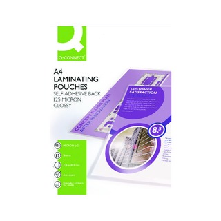 A4 Sticky-Backed Laminating Pouches 250 Micron (25 Pack)