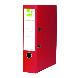 Red A4 Paperbacked Lever Arch File (10 Pack)