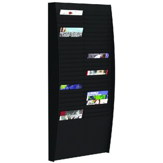 A4 Document Control Panel 50 Compartments Black V225.