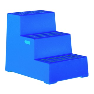 Blue Plastic 3 Step Safety Step 325098