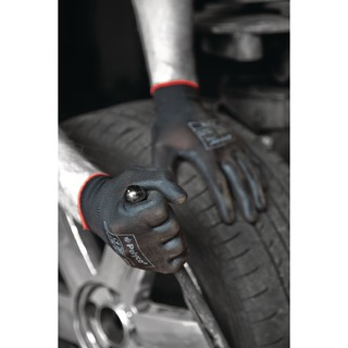 Matrix P Grip Gloves 9 Black 403-MAT