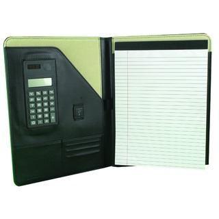 Black Executive Conference Folder With A4 Pad