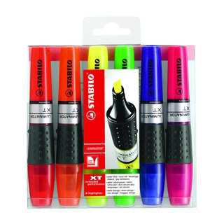 Luminator Assorted Highlighters (6 Pack) 71/