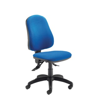 Plus Deluxe High Back Operator Blue Chair