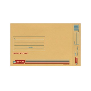 Bubble Lined Envelope Size 7 230x340mm Gold (50 Pack)