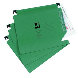 Green Manilla 275mm Lateral File (25 Pack)