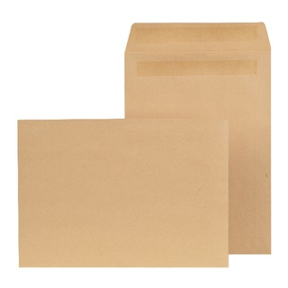 C4 Envelope Self Seal 90gsm Manilla (250 Pack)