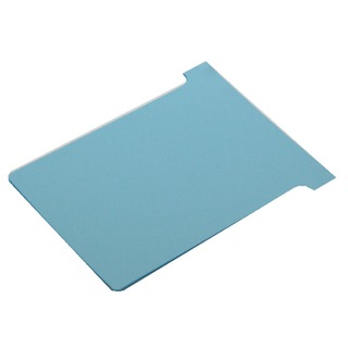 Size 2 Light Blue T-Card (100 Pack) 32