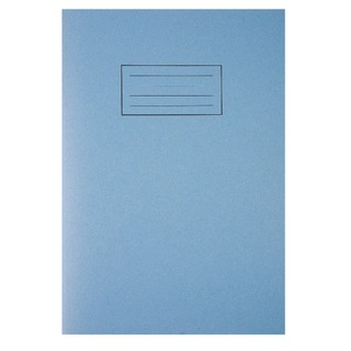 Ruled Feint With Margin Blue A4 Exercise Books 80 Pages (10 Pack) EX108