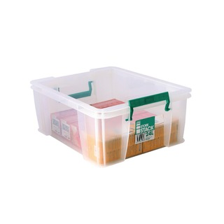 24 Litre Clear W480xD380xH190mm Store Box