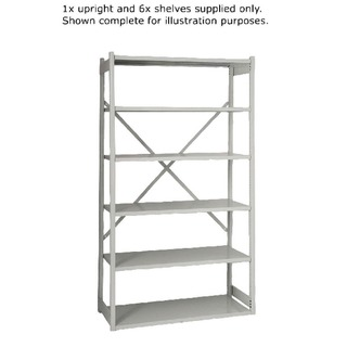 Shelving W1000xD460mm Grey Extension Kit