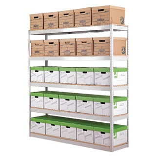 Grey Stock/Archiving Shelving W1800mm