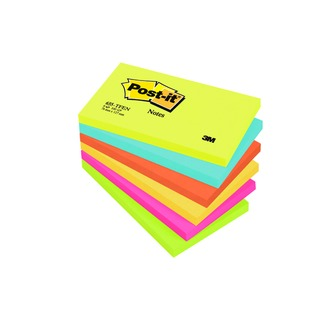 Post-it 76x127mm Energy Colours Notes (6 Pack) 655TF