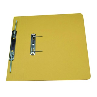 Yellow Foolscap Transfer Spiral File (50 Pack) 348-YLW