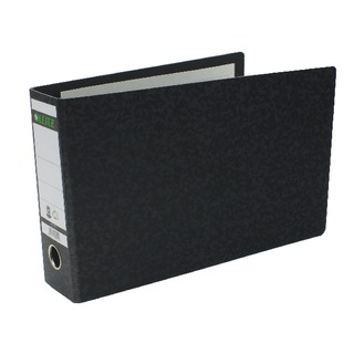 180° A4 2 Ring Lever Arch File Oblong Black (4 Pack) 310690195