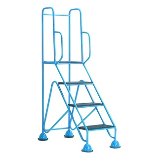 Easy Glide Blue Mobile 4 Step Full Handrail 35925